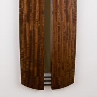 tribal mirror-claro walnut